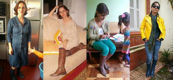 FEMINA - Modéstia e elegância: Meus looks preferidos com botas + linkup