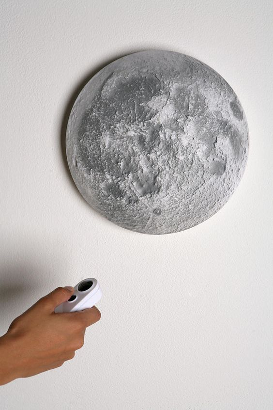 Illuminated Remote Control Moon (she's just recently discovered the moon so she'd love this)