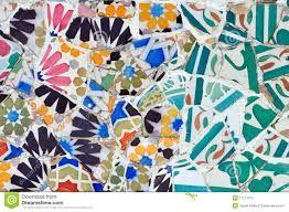 Bildergebnis für mosaik antoni gaudi