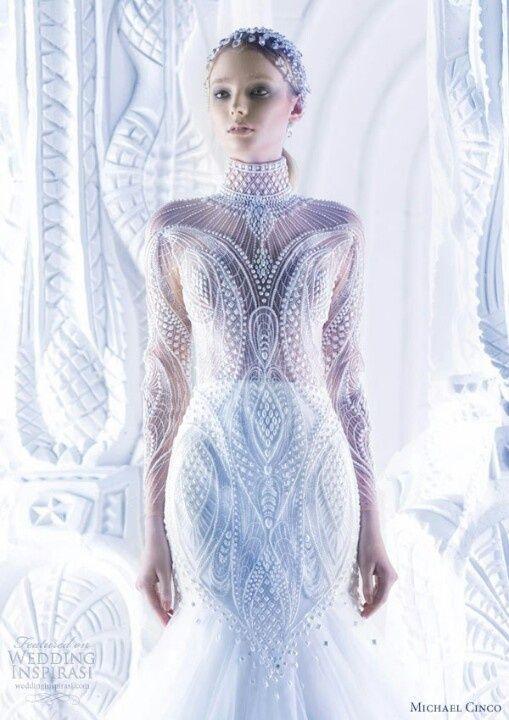 Saiidis wedding gown / Vestido de novia de Saiidi