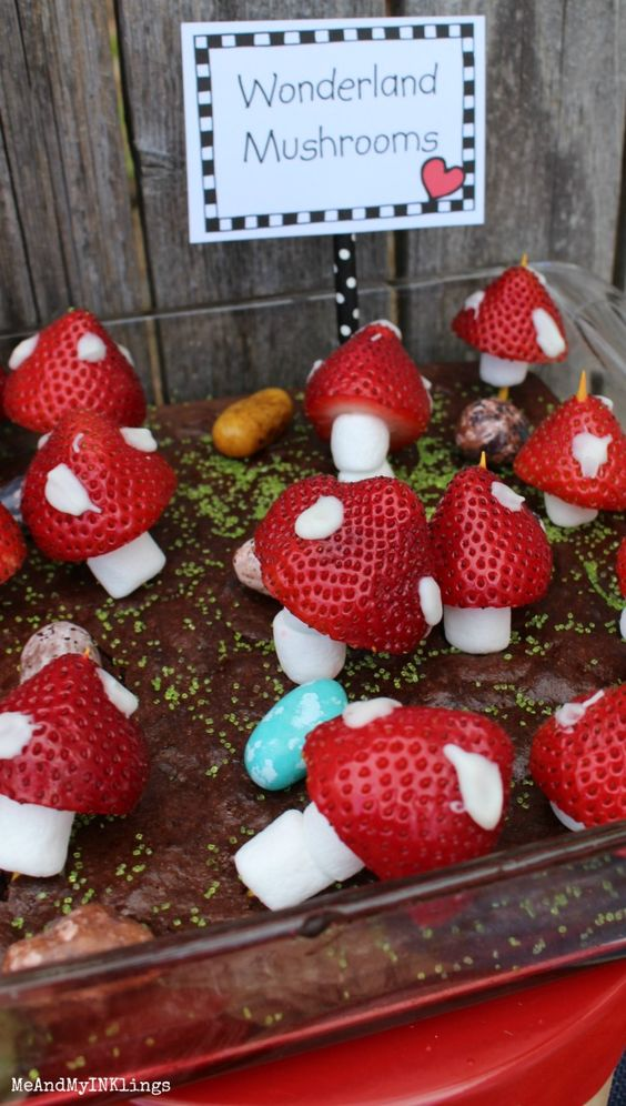Wonderland Mushrooms:
