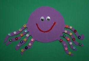 Kids Octopus Craft-this is a fantastic preschool craft with simple instructions and fun materials, this is sure to capture your child's interest!