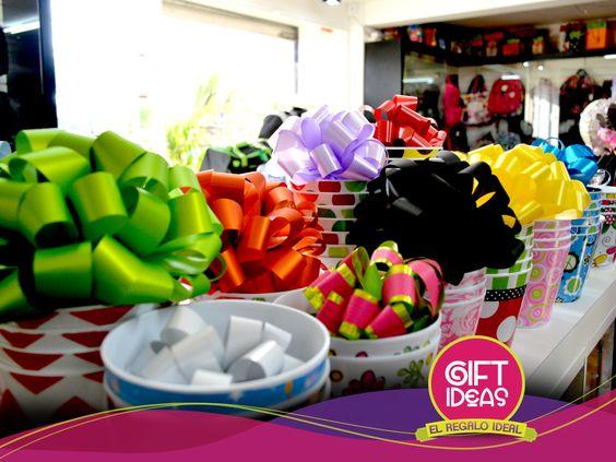 Un regalo sin lazo, es un regalo incompleto. ¡Haz el tuyo perfecto con nuestra ayuda! Somos #ExpertosEnRegalos