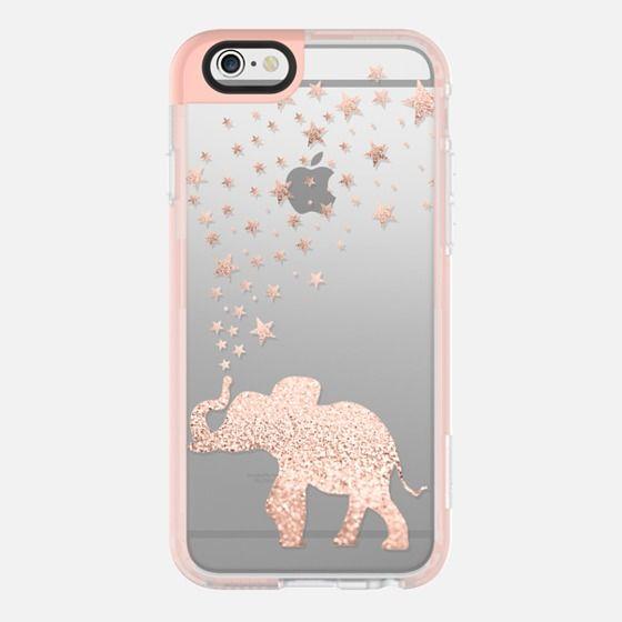 HAPPY ELEPHANT ROSÈ by Monika Strigel  - New Standard Pastel Case