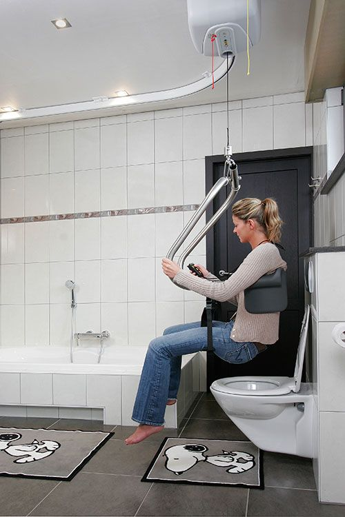 Lift For Disabled Person : Body support patient hoists mobile ceiling