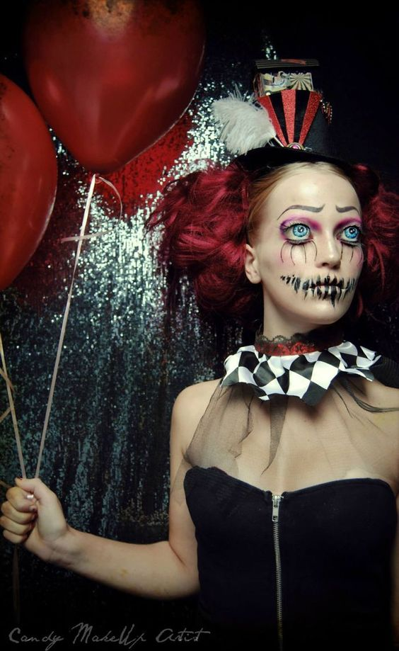 Joyce Spakman superbes et terrifiants maquillages 4