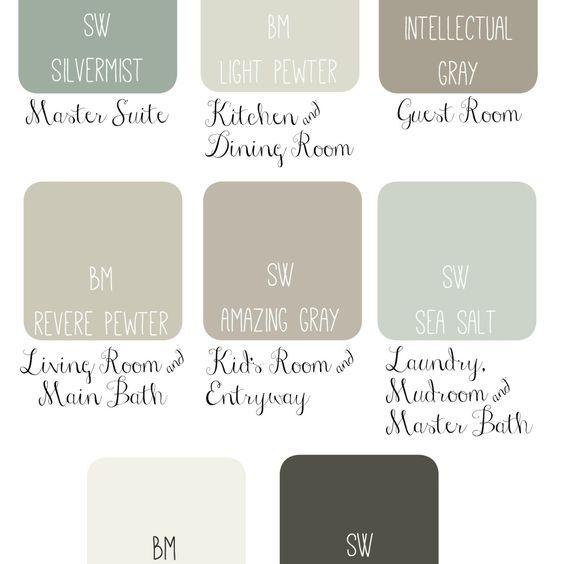 Paint Paint Schemes And Colors On Pinterest
