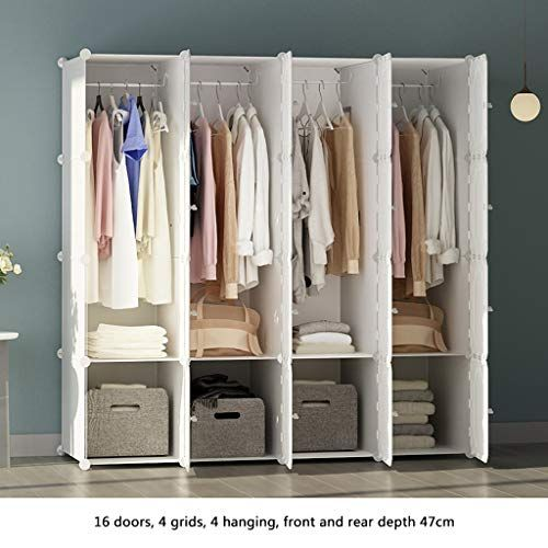 Ultra Time Empty Wardrobe Clothes Portable Wardrobe Closet Modular Storage Organizer Space Saving Armo Pax Wardrobe Ikea Pax Wardrobe Bedroom Decor On A Budget