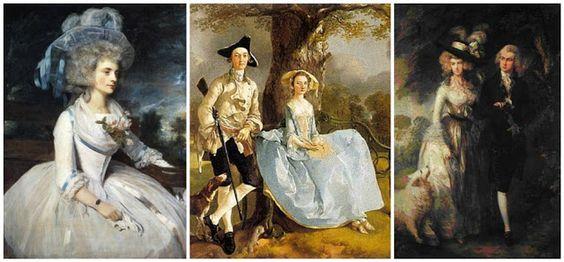 .História da Moda.: Existe diferença entre a Moda Georgiana e a Moda Rococó?