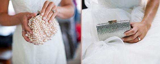 Clutches para noivas