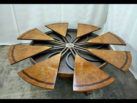 There Are Amazing Expanding Round Tables Compilation