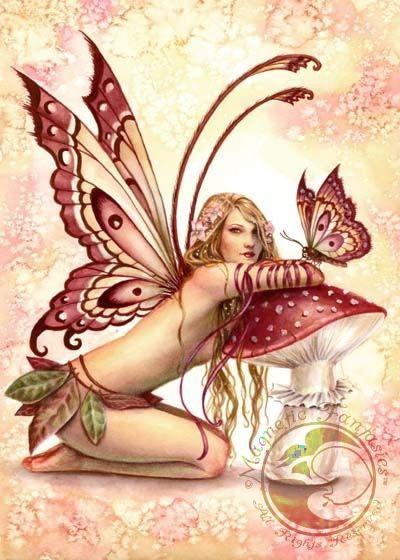 Hada y mariposa