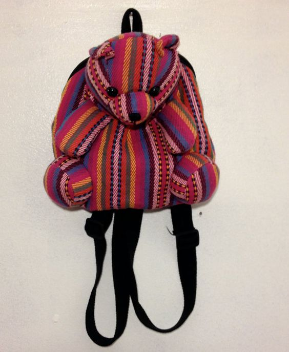 Cute 90s Mini Bear Backpack by thatVideoVAMPvintage on Etsy, $25.00