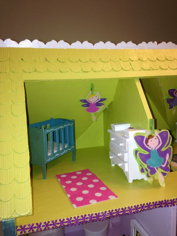 Nursery doll house for princess parties pinterest nurseries