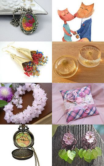 Stunning finds! by Monika Przymuszala on Etsy--Pinned with TreasuryPin.com