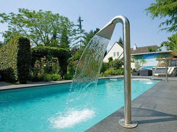 Waterval douche voor een beetje verkoeling dit weekend.