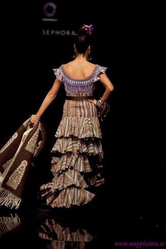 Traje de Flamenca - Cristo-Banez - Simof-2011