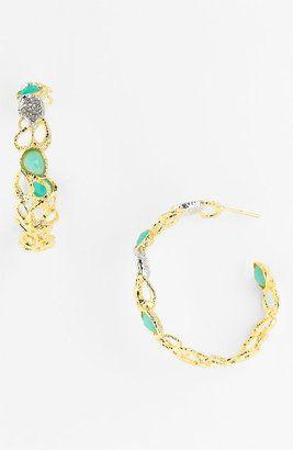 ShopStyle: Alexis Bittar 'Elements - Siyabona' Petal Hoop Earrings