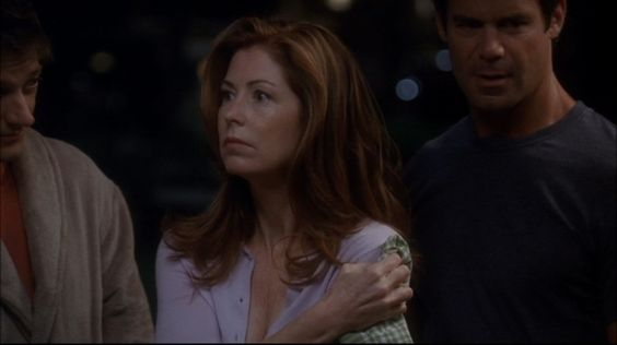 Desperate Housewives: Katherine, after being shot by Susan