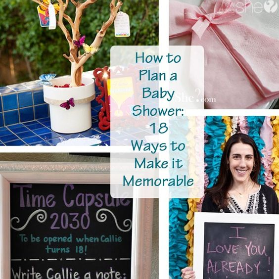 how to plan a baby shower 18 ways to make it memorable baby showers