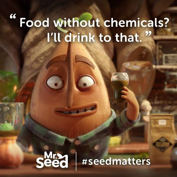 Organic plant breeding helps crops adapt to their environments, increasing yields by as much as 31%. We can feed the world without ruining it. Sign this petition to USDA for organic seeds:  #SeedMatters
