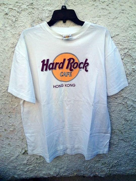 Cool Item Hard Rock Cafe Hong Kong Shirt Xl Hardrockcafe Shopping Tshirt Long Sleeve Tshirt Men Shirts
