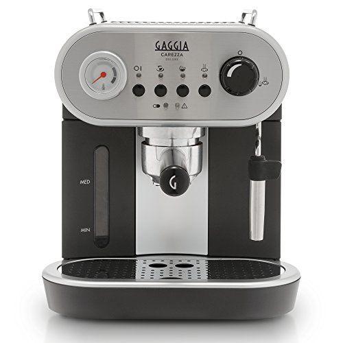Gaggia Carezza De Luxe Espresso Machine Silver Automatic
