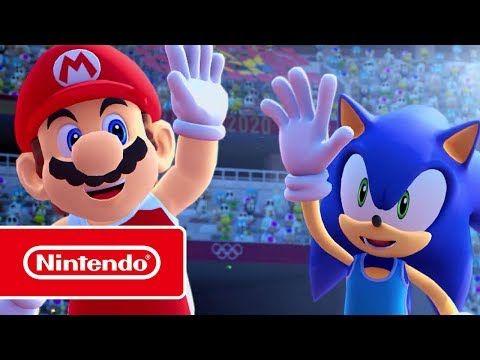Mario Sonic En Los Juegos Olímpicos Tokio 2020 Tráiler Diversión A Espuertas Sonic Juegos Olimpicos Mario