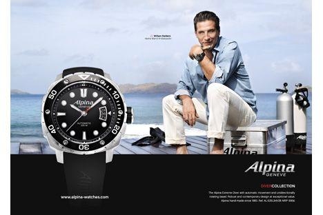 Der nächste Sommer kommt bestimmt. Für Freunde des Wassers - Alpina Extreme Diver.