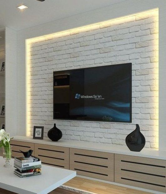 64 Best Tv Wall Designs And Ideas Page 20 Of 64 Living Room Designs Ideas Living Page Room Tv Wall Design Living Room Tv Wall Interior Wall Design