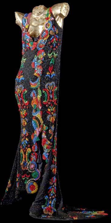 Gianni Versace - Costumes de Scène - Opéra - Kiri Te Kanawa - La Comtesse - Capriccio - Richard Strauss - 1990