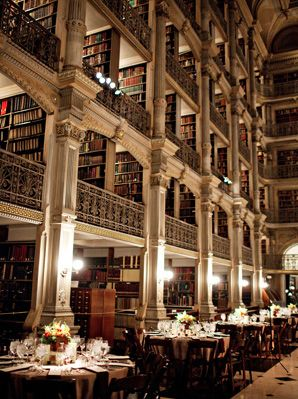 Love books? Choose a library as your venue - elegant, grand and filled with literary favourites.