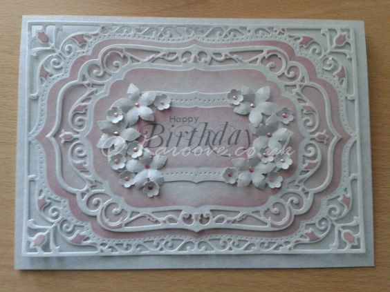 spellbinders elegant labels | Birthday Wishes - spellbinders elegant labels 4 | Handmade ...