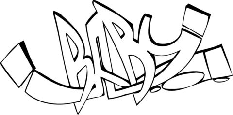 Baby Graffiti Coloring Page From Graffiti Category Select From 28264 Printable Crafts Of Cartoons Coloring Pages For Teenagers Graffiti Words Graffiti Creator