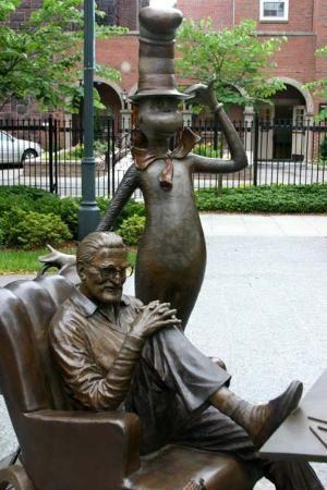 Dr Seuss National Memorial Sculpture Park Springfield Massachusetts Sculptures And Statues
