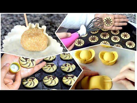 شوفو اكثر من 90 طريقة جديدة لتشكيل حلويات العيد بدون طابع Youtube Desserts Food Sugar Cookie