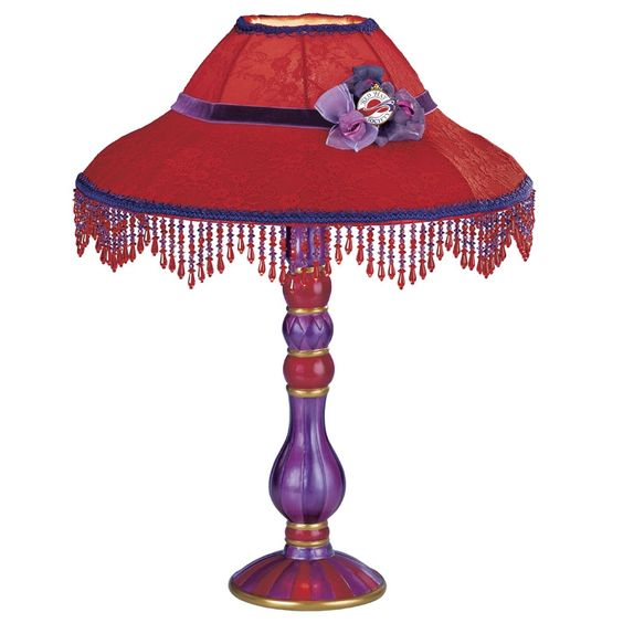 Red+Hat+Society   Red Hat Society Victorian Table Lamp - The Danbury Mint