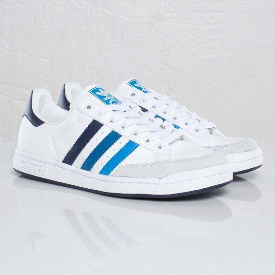 adidas Tennis Pro - White/Dark Royal
