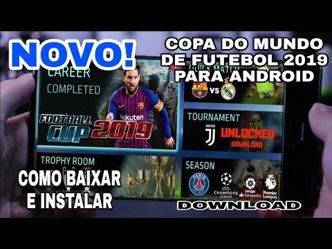 Saiu Football Cup 2019 Com Mod Tudo Desbloqueado Super Leve 50 Mb