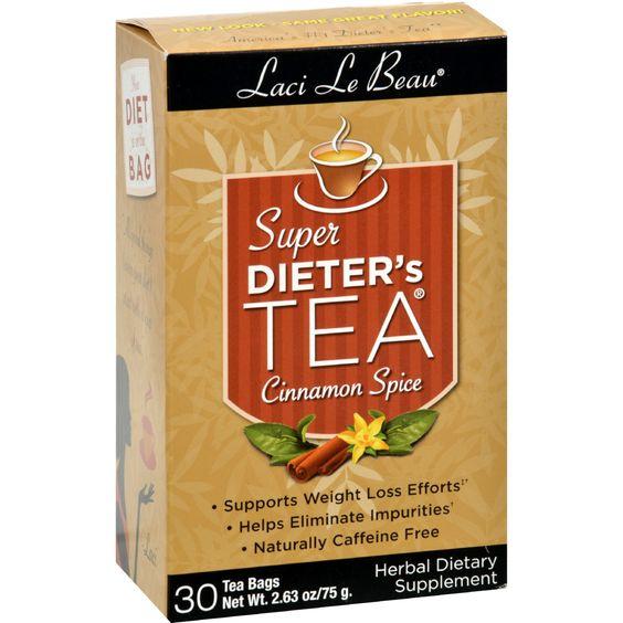 Laci Le Beau Super Dieter's Tea Cinnamon Spice - 30 Tea Bags