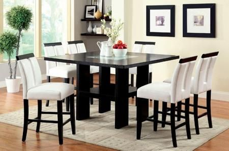 Furniture Of America Cm3559pt6pc 1 427 96 Counter Height Dining