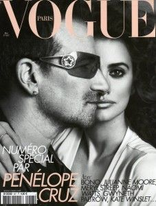 May 2010 issue of French Vogue: Bono Penelope, Magazine Covers, French Vogue, Penelope Cruz, Cruz Bono, Vogue Covers