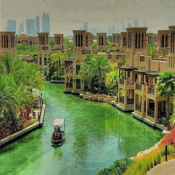 Madinat Jumeirah, Dubai. designed by Creative kingdom Inc.