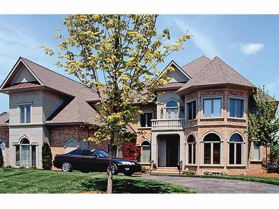 Eplans New American House Plan Lavish With its Luxuries 7505