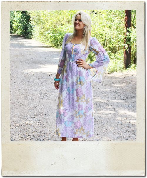Floaty floral maxi dresses