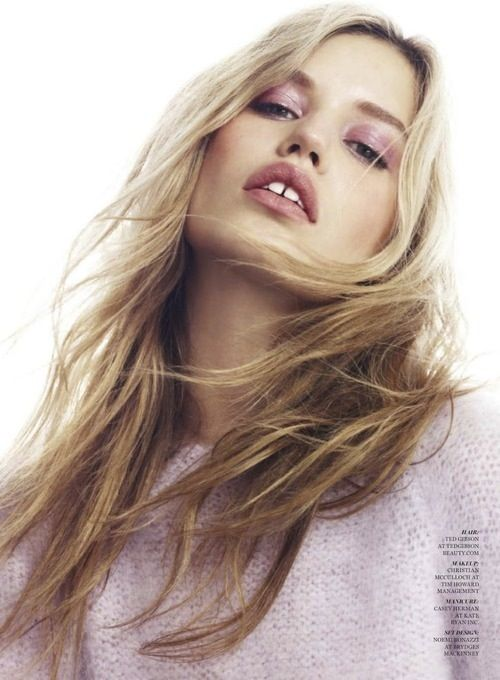 lilac: Marie Claire, Long Hairstyles, Hair Beauty, Georgia May Jagger, Fashion Editorials, Alex Cayley, Fashion Photography, Beauty Makeup Hairstyle, Alexcayley Georgiamayjagger