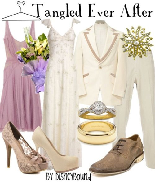 Disney Bound Tangled Ever After outfits!