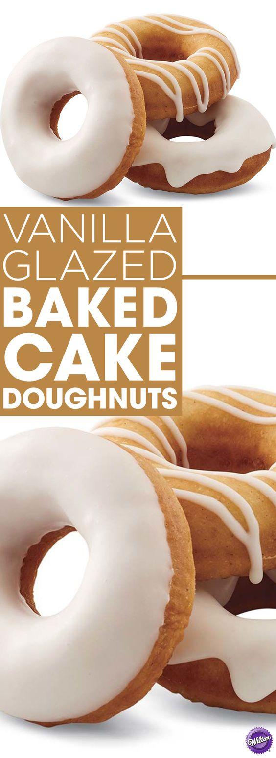 Cake Doughnut Recipe Easy