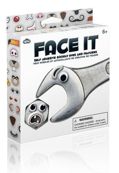 pimp je gereedschap, schakelaars, deurbeslag enz.... De doos bevat 36 stickertjes om allerhande alledaagse dingen een leuke look te geven.