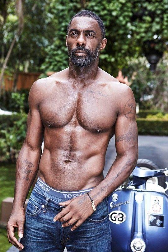 Idris Elba Tattoos : idris, tattoos, Handsome